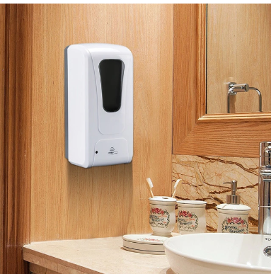 Automatic Hand Sanitizer Dispenser, Liquid Soap Dispenser Drop (Gel) /Spray with Sensor, Touchless for Office/Home/Restaurant/Hotel Fy-0029